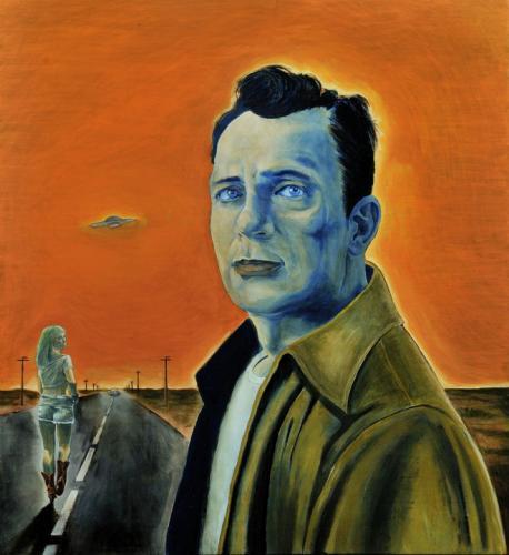 ritratto do Kerouac di Tommaso Pincio